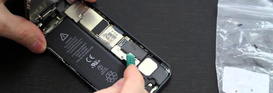 batterie d'un iPhone 5