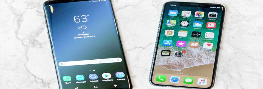 Iphone ou Samsung